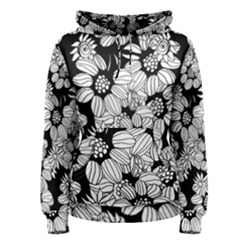 Mandala Calming Coloring Page Women s Pullover Hoodie