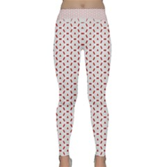 Motif Pattern Decor Backround Classic Yoga Leggings