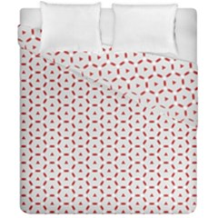Motif Pattern Decor Backround Duvet Cover Double Side (california King Size) by Nexatart