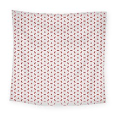 Motif Pattern Decor Backround Square Tapestry (large) by Nexatart