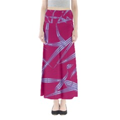 Background Vector Texture Pattern Maxi Skirts