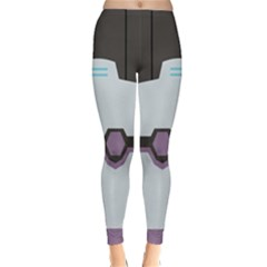 Alien Guardian Winter Leggings by NoctemClothing