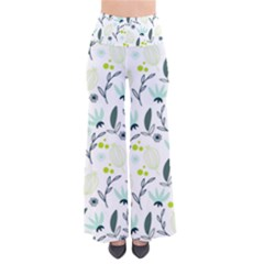 Hand Drawm Seamless Floral Pattern Pants