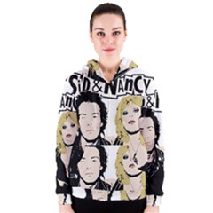 Sid And Nancy Women s Zipper Hoodie