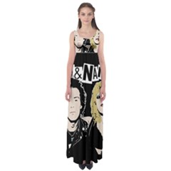 Sid And Nancy Empire Waist Maxi Dress by Valentinaart