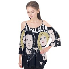 Sid And Nancy Flutter Tees by Valentinaart