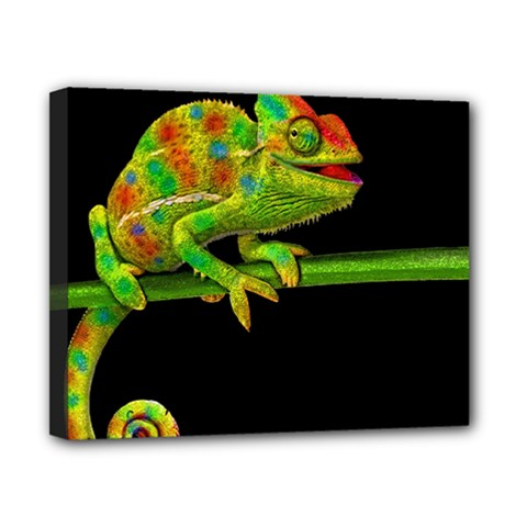 Chameleons Canvas 10  X 8  by Valentinaart