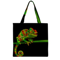 Chameleons Grocery Tote Bag by Valentinaart