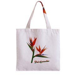 Bird Of Paradise Grocery Tote Bag by Valentinaart