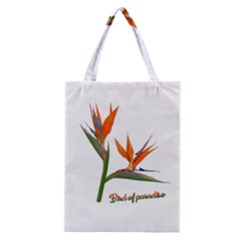 Bird Of Paradise Classic Tote Bag by Valentinaart