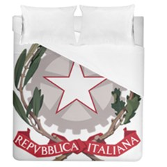 Emblem Of Italy Duvet Cover (queen Size) by abbeyz71