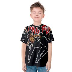 Kung Fu  Kids  Cotton Tee