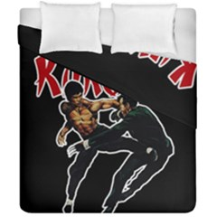 Kung Fu  Duvet Cover Double Side (california King Size) by Valentinaart