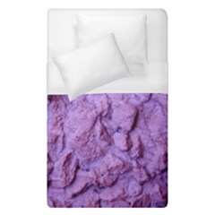 Purple Wall Background Duvet Cover (single Size) by Costasonlineshop
