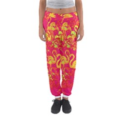 Flamingo Pattern Women s Jogger Sweatpants by ValentinaDesign