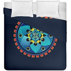 Abstract Mechanical Object Duvet Cover Double Side (king Size)