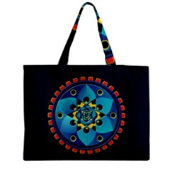 Abstract Mechanical Object Medium Tote Bag