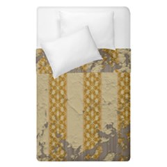 Wall Paper Old Line Vertical Duvet Cover Double Side (single Size) by Mariart