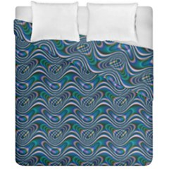 Boomarang Pattern Wave Waves Chevron Green Line Duvet Cover Double Side (california King Size) by Mariart