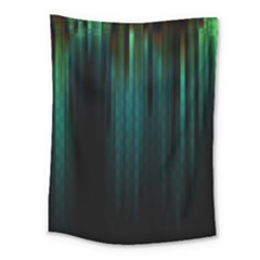 Lines Light Shadow Vertical Aurora Medium Tapestry by Mariart
