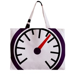 Maker Measurer Hours Time Speedometer Zipper Mini Tote Bag by Mariart