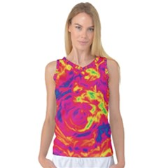 Abstract Art Women s Basketball Tank Top by ValentinaDesign