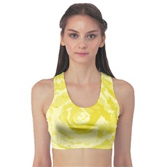 Abstract Art Sports Bra by ValentinaDesign