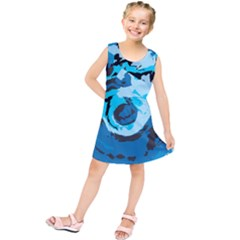 Abstract Art Kids  Tunic Dress by ValentinaDesign