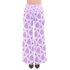 Sweet Doodle Pattern Pink Pants