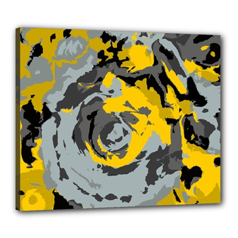 Abstract Art Canvas 24  X 20  by ValentinaDesign