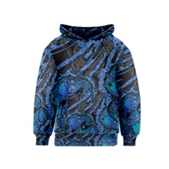 Unique Abstract Mix 1b Kids  Pullover Hoodie by MoreColorsinLife
