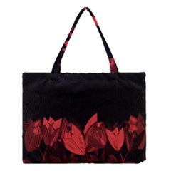 Tulips Medium Tote Bag by ValentinaDesign