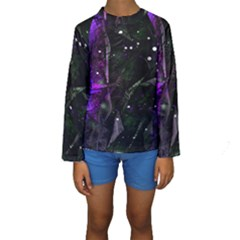 Abstract Design Kids  Long Sleeve Swimwear by ValentinaDesign
