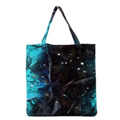 Abstract Design Grocery Tote Bag by ValentinaDesign