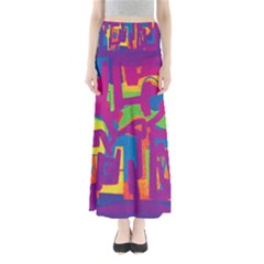 Abstract Art Maxi Skirts by ValentinaDesign