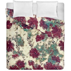 Floral Dreams 10 Duvet Cover Double Side (california King Size) by MoreColorsinLife