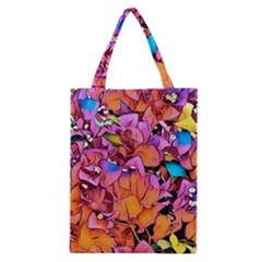 Floral Dreams 15 Classic Tote Bag by MoreColorsinLife