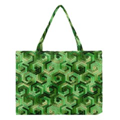 Pattern Factory 23 Green Medium Tote Bag by MoreColorsinLife