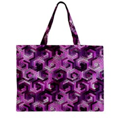 Pattern Factory 23 Pink Medium Tote Bag by MoreColorsinLife