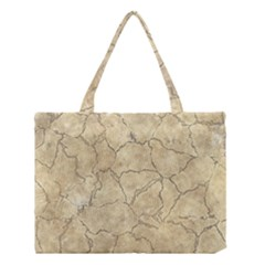 Cracked Skull Bone Surface B Medium Tote Bag by MoreColorsinLife