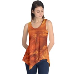 Fantastic Wood Grain Sleeveless Tunic by MoreColorsinLife