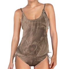 Fantastic Wood Grain Soft Tankini by MoreColorsinLife