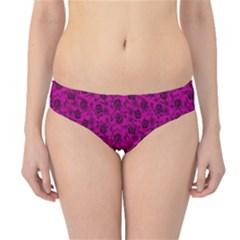Roses Pattern Hipster Bikini Bottoms by Valentinaart
