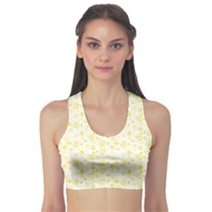 Roses Pattern Sports Bra by Valentinaart