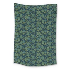 Roses Pattern Large Tapestry