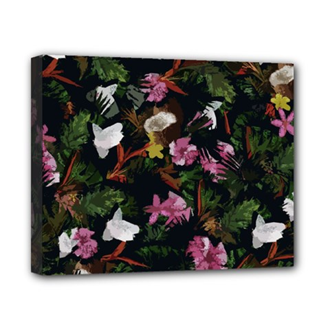 Tropical Pattern Canvas 10  X 8
