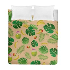 Tropical Pattern Duvet Cover Double Side (full/ Double Size) by Valentinaart