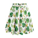 Tropical pattern High Waist Skirt View1