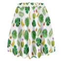 Tropical pattern High Waist Skirt View2