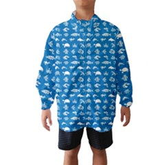 Fish Pattern Wind Breaker (kids) by ValentinaDesign